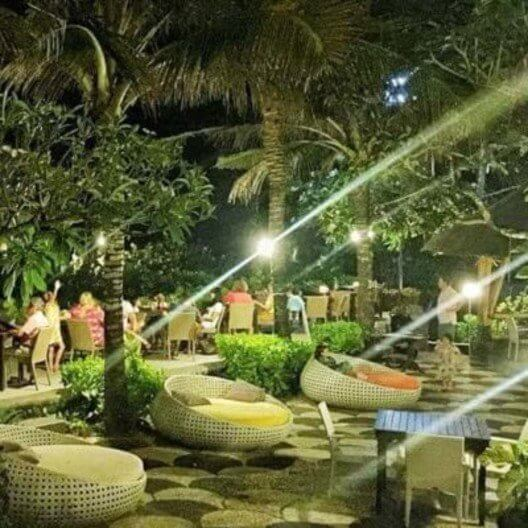 nusa dua restaurants | nusa dua beach grill | evening dining